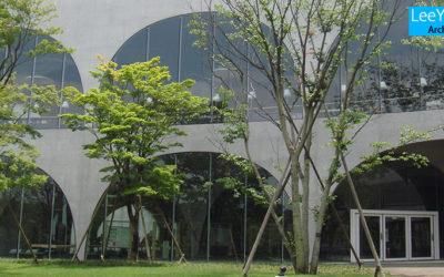 타마미술대학교부속도서관(多摩美術大学付属図書館)/이토토요(伊藤豊雄)