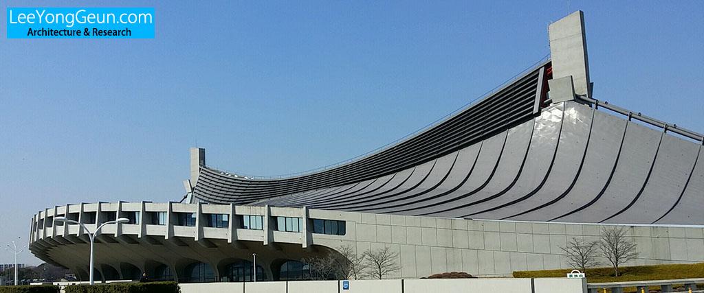 요요기국립경기장(代々木国立競技場)/당게겐조(丹下健三)