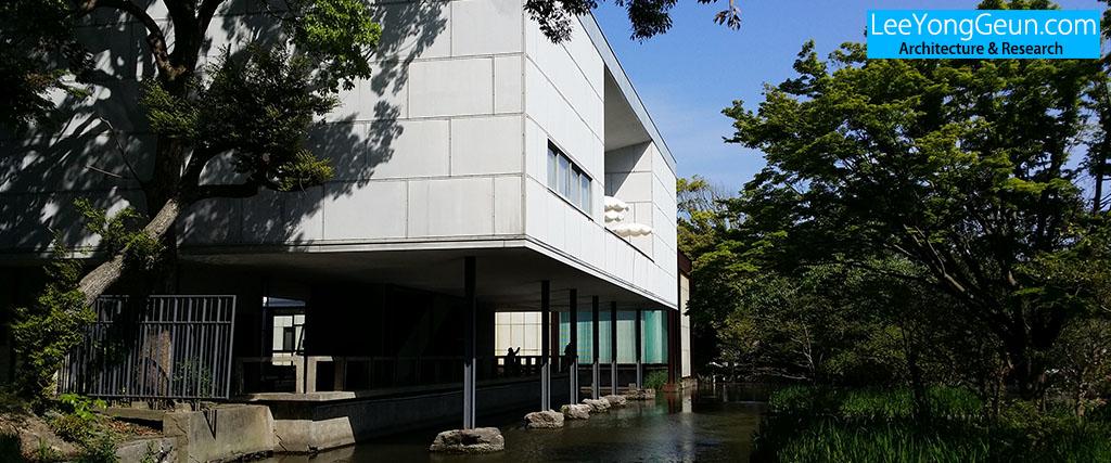 카나가와현립근대미술관(神奈川県立近代美術館)/사카쿠라준조(坂倉準三)
