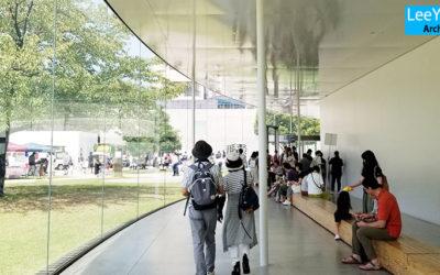 가나자와21세기미술관(金澤21世紀美術館)/SANAA